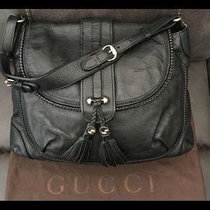 Gucci Large Marrakech Flap Hobo Handbag